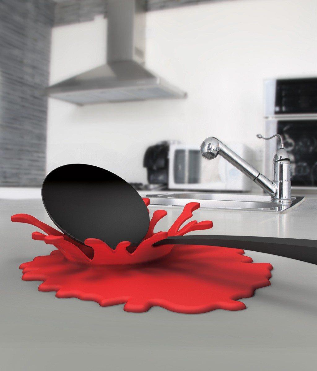 nouveau les ustensiles de cuisine en forme d 39 claboussure splash. Black Bedroom Furniture Sets. Home Design Ideas