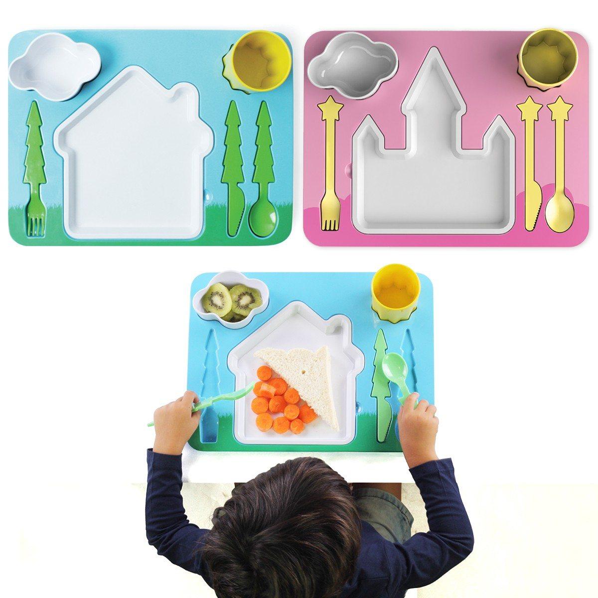Plateau repas pour enfant le cadeau pratique et ludique - Repas pour les enfants ...
