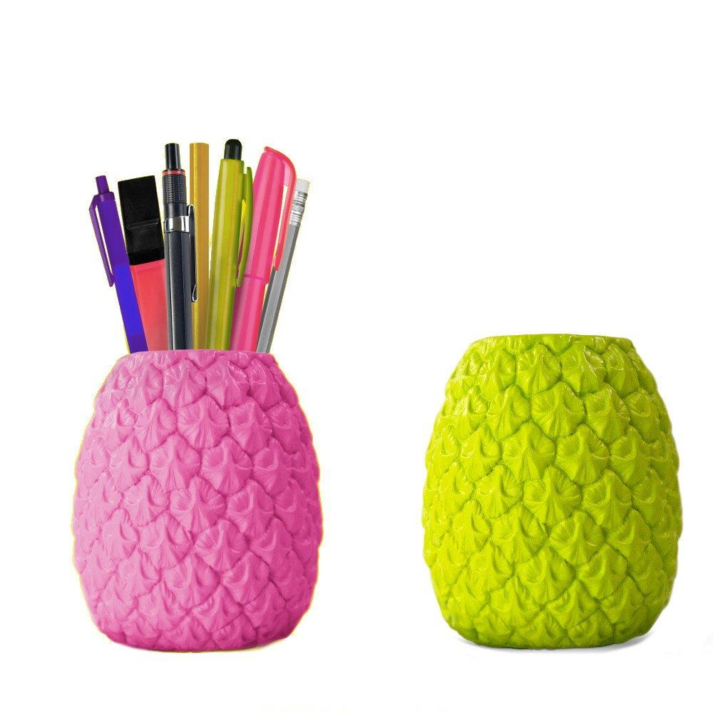pot crayons ananas cadeau bureau design. Black Bedroom Furniture Sets. Home Design Ideas