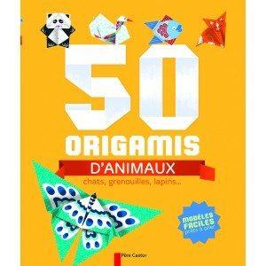 50 origamis d'animaux