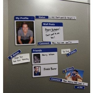 Aimants Facebook pour Réfrigérateur