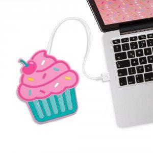 Chauffe-tasse USB Cupcake ou Donut