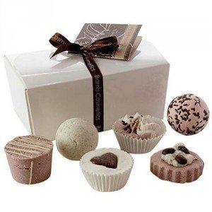 Coffret de bain - douceur chocolat