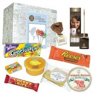 Coffret tour du monde des sucreries