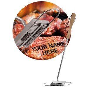 Fer à marquer personnalisable pour barbecue