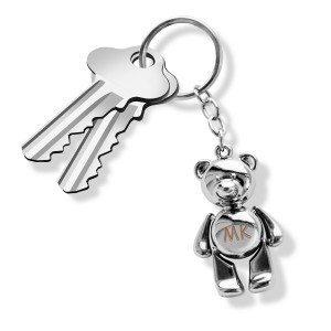 Porte-clés ours gravé
