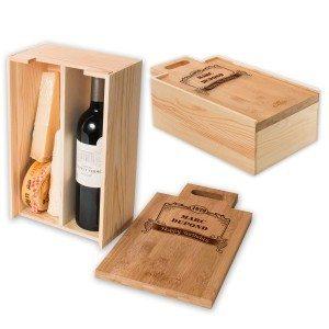 RACKPACK – Boîte à vin & fromage