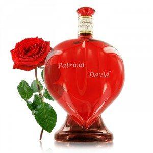 Rosé du coeur - gravé