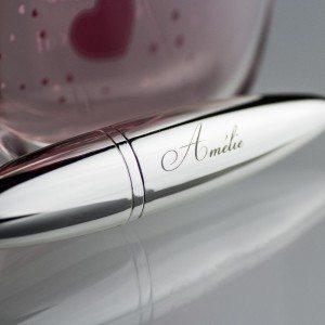 Vaporisateur de parfum design gravé