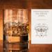 Verre à whisky gravé - Design tête de mort
