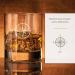 Verre à Whisky - Boussole - Personnalisé avec prénom