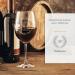 Verre à vin rouge 30 ans - avec gravure