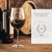 Verre à vin rouge 20 ans - avec gravure