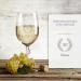 Verre à vin blanc personnalisé – 20 ans