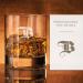Verre à whisky initiale – avec gravure