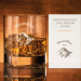 Verre à whisky Alpes - avec gravure